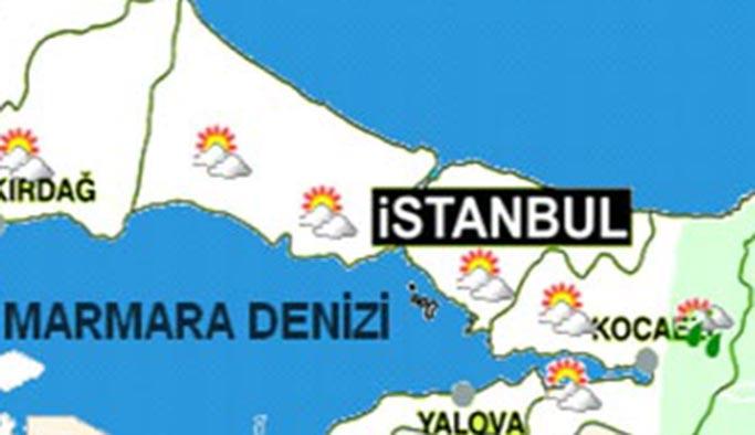 İstanbul'da 16 Eylül 2019 Pazartesi hava durumu nasıl - HARİTALI?