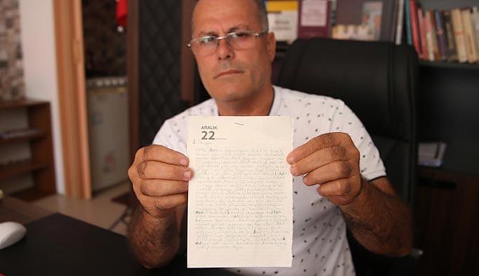 Öldürülen engelli kadının kan donduran mektubu ortaya çıktı