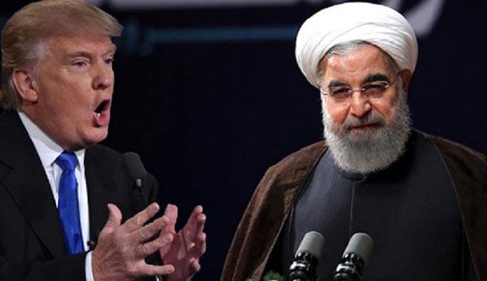 Trump'tan Ruhani'ye yalanlama