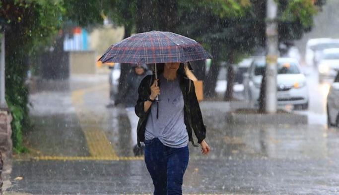 23 Ekim hava durumu - Meteorolojiden sağanak ve sis uyarısı