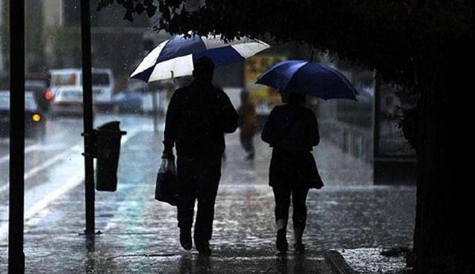 26 Ekim Cumartesi hava durumu - Yağışlı hava uyarısı