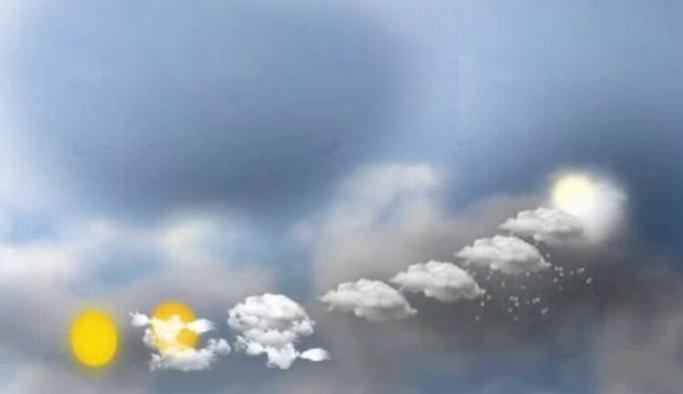 28 Ekim hava durumu - 16 için yağış uyarısı