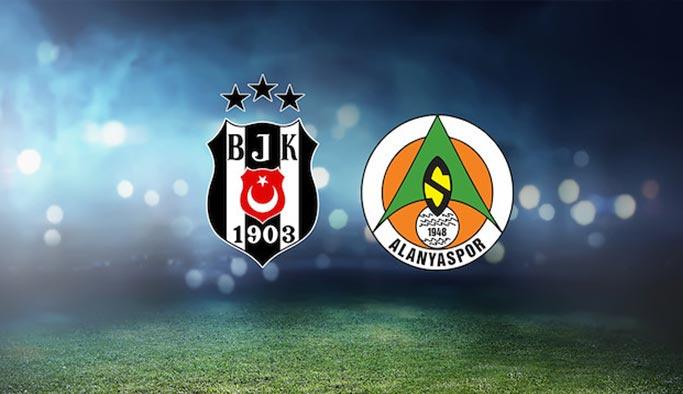 Beşiktaş - Aytemiz Alanyaspor ilk 11 belli oldu