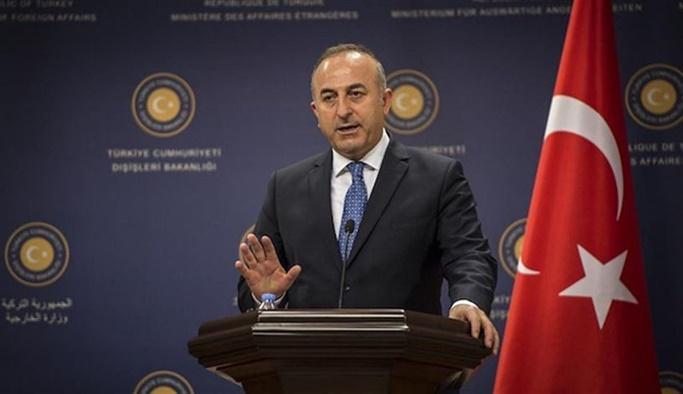 Çavuşoğlu Alman bakanın yüzüne söyledi