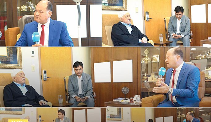 Darbeci Sisi'nin kanalından FETÖ lideri ile özel röportaj
