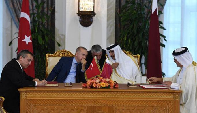 Erdoğan Katar'dan 7 yeni anlaşmayla döndü