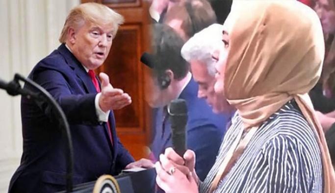 Hilal Kaplan ve Trump arasındaki diyalog gündem oldu
