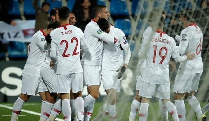 Milli Takım Avrupa yolunda son maçı da rahat kazandı