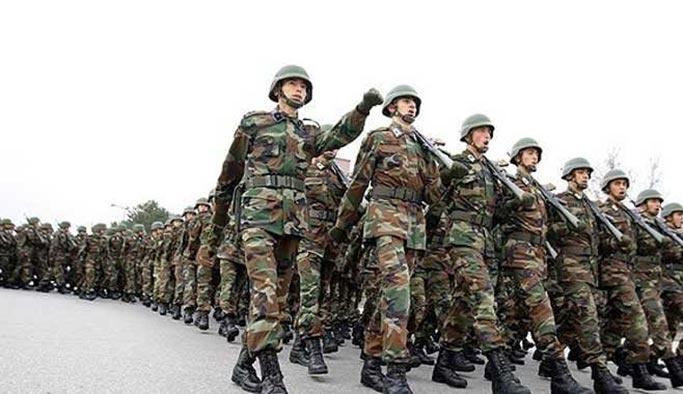 TSK'daki mevcut asker sayısı açıklandı