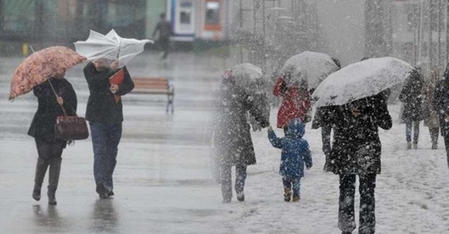 13 Aralık hava durumu - Meteorolojiden kar ve yağmur uyarısı