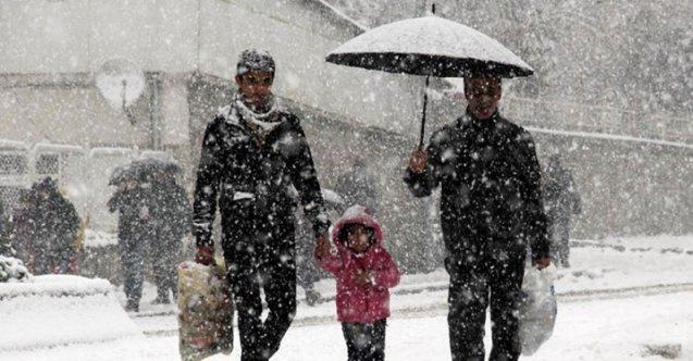 27 Aralık Cuma hava durumu - Meteorolojiden 66 ile yağış uyarısı