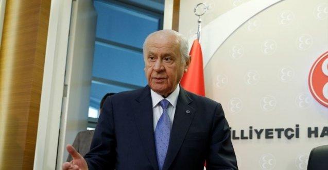 Bahçeli, Libya ile yapılan anlaşmayı değerlendirdi