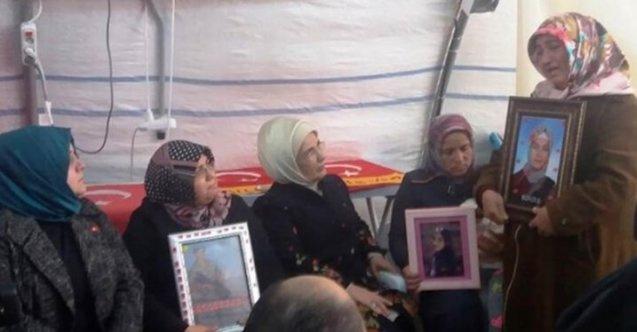 Emine Erdoğan'dan Diyarbakır annelerine ziyaret