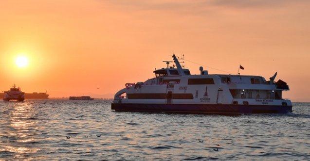 Son dakika: Deniz ulaşımında bazı seferler iptal