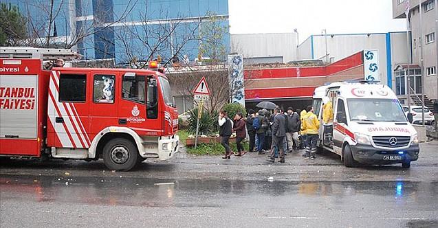 Son Dakika: Ümraniye'de iş yerinde patlama