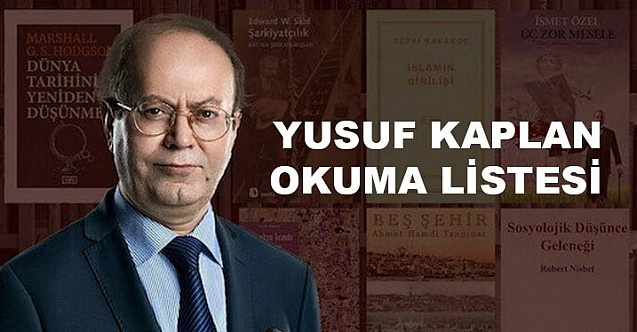 Yusuf Kaplan Okuma Listesi 2020 Güncel hali yayınlandı - Kitap Tavsiyesi