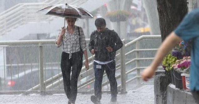 2 Ocak 2020 hava durumu - Meteoroloji'den yağış uyarısı