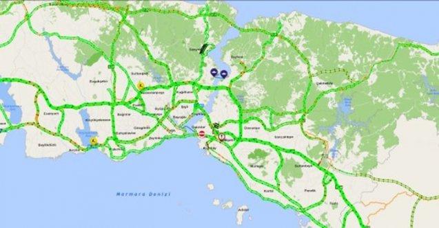 Yeni yılın ilk gününde İstanbul'da yollar boş kaldı