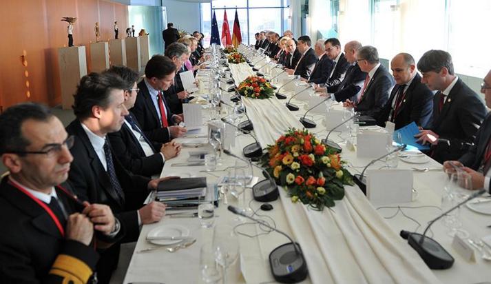 Türk-Alman hükümetlerinden ortak toplantı