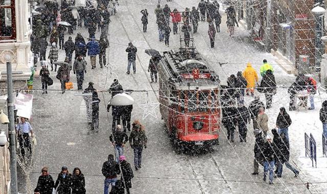 İstanbul'a kar yağışı bekleniyor