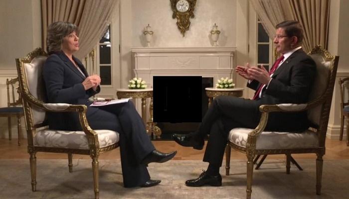 Davutoğlu CNN'e konuştu: PYD'yi istemiyoruz