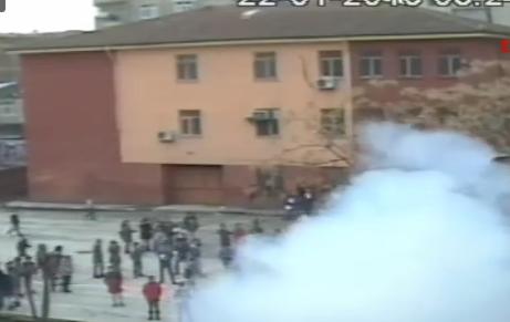 Öğrencilere bombalı saldırının görüntüleri