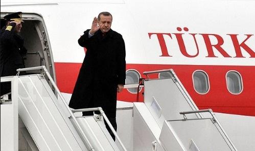 Erdoğan'dan beş günlük Latin Amerika ziyareti