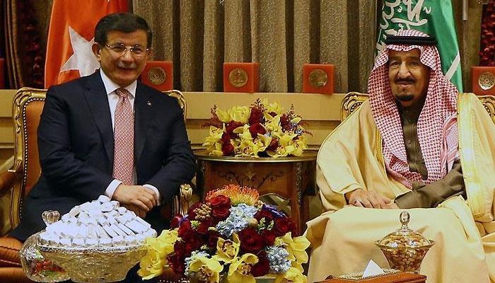 Başbakan Davutoğlu Riyad'da