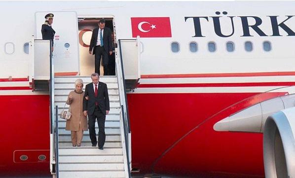 Erdoğan batı Afrika'ya hareket etti