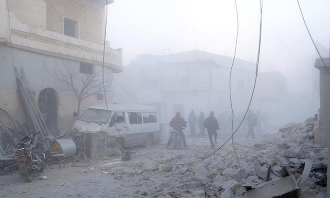 Rusya Halep'te sivilleri vurdu
