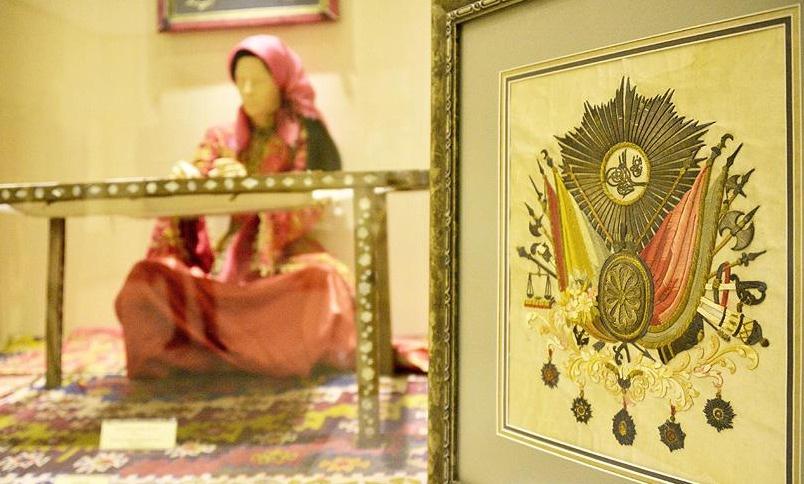 Osmanlı Arması Etnoğrafya Müzesinde