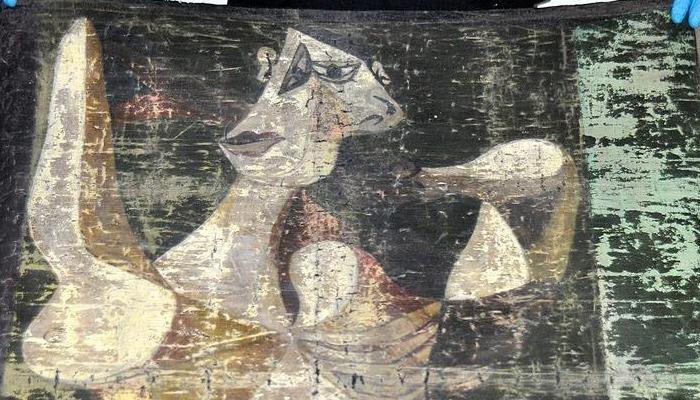 Picasso tablosu ele geçirildi