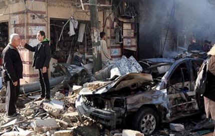 Şam'da şiddetli patlamalar: En az 30 ölü