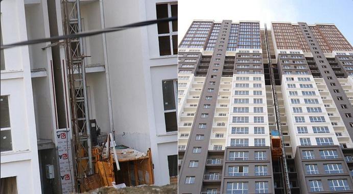 Rezidans inşaatında asansör kazası: Üç ölü