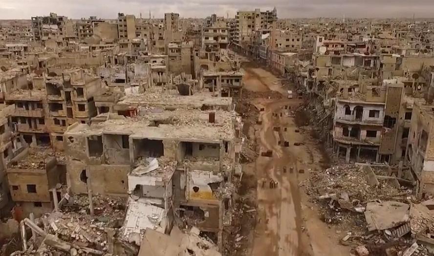 Savaş Humus'u bu hale getirdi | HAVADAN ÇEKİM