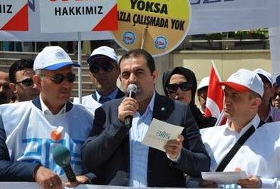 SGK çalışanları özlük haklarını geri istiyor