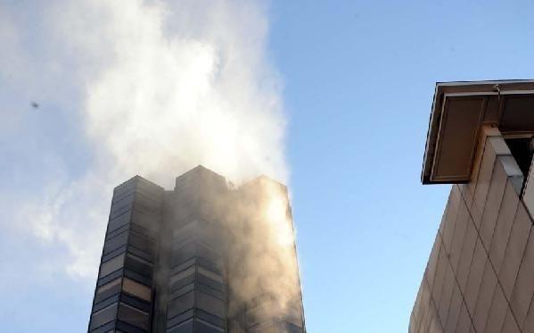 İstiklal Caddesi'nde yangın paniği