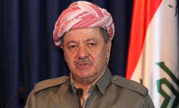 Barzani'den 'bağımsızlık' resti: İzin alacak değiliz