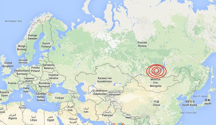 Rusya'da 6.0 büyüklüğünde deprem
