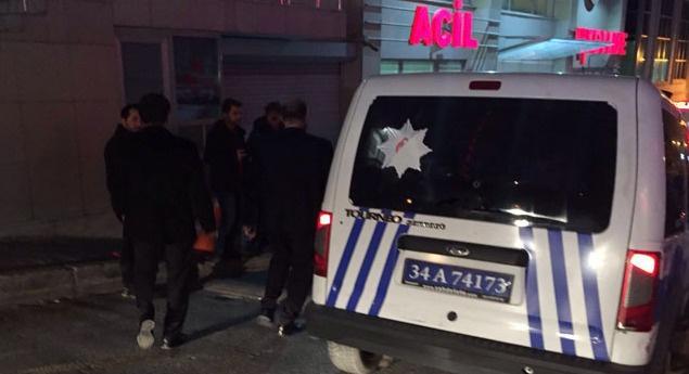 İstanbul Esenyurt'ta polise saldırı