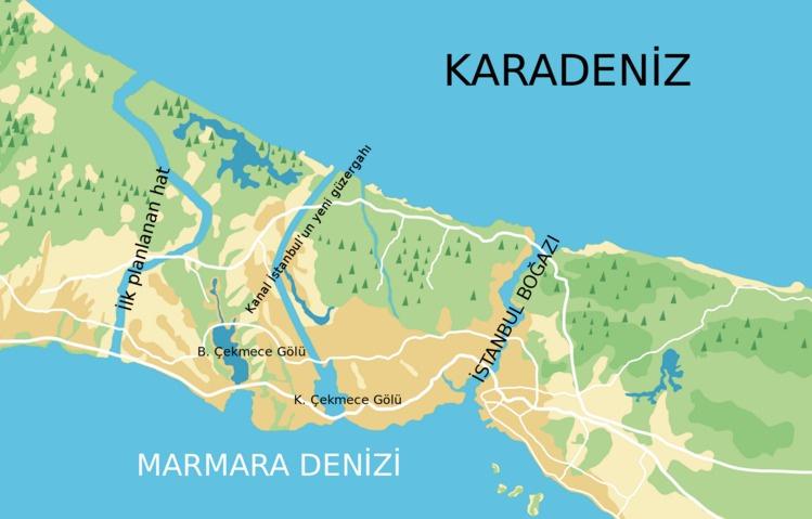 Kanal İstanbul'un güzergâhı değişebilir