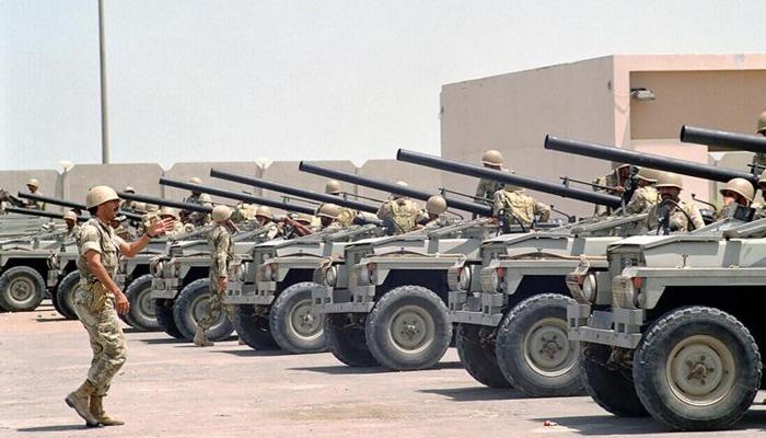 28 ülkenin ordusu şu an Arabistan çöllerinde