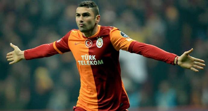 Galatasaraylı Burak Yılmaz Çin'e transfer oldu