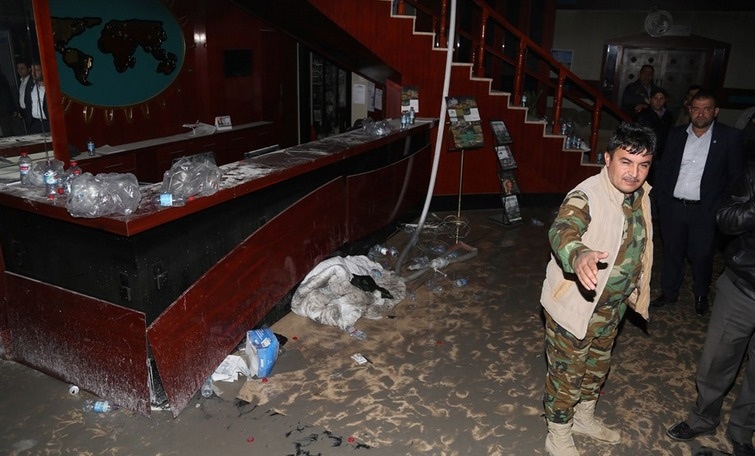 Erbil'deki otel yangınında ölü sayısı 19 oldu