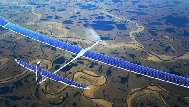 Drone ile 40 kat daha hızlı internet