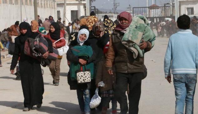 Rusya, Halep'te 51 bin kişiyi yerinden etti