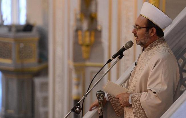 Diyanet İşleri Başkanı Mardin'de hutbe okuyacak