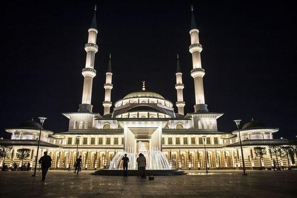 İlk Cuma salâsı Millet Camii'nde
