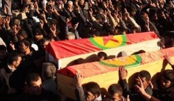 Tabuttan canlı PKK'lı çıktı