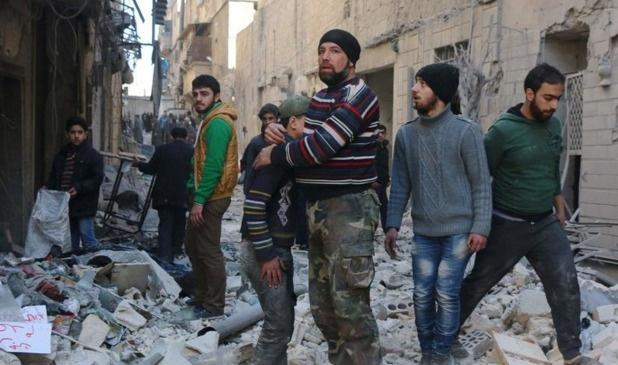 Rusya dün de Halep'te sivilleri vurdu